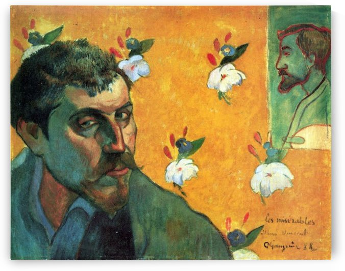 Les Miserables by Gauguin by Gauguin