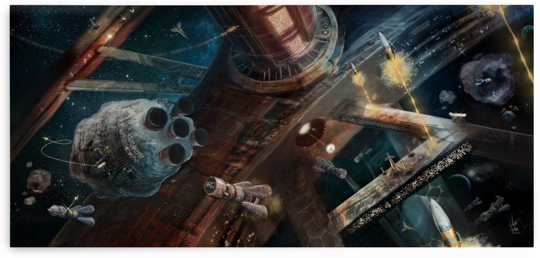 Soviet Space by Luis F  Peres