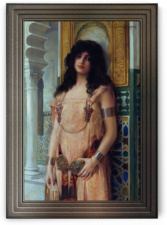 An Eastern Beauty by Leon Comerre Classical Fine Art Reproduction by xzendor7
