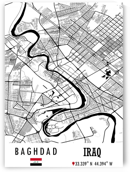 Baghdad IRAQ by Artistic Paradigms