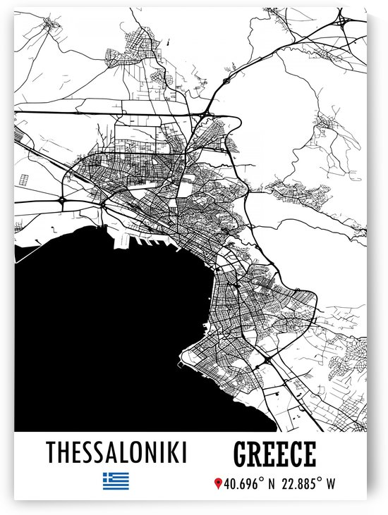 Thessaloniki GREECE by Artistic Paradigms