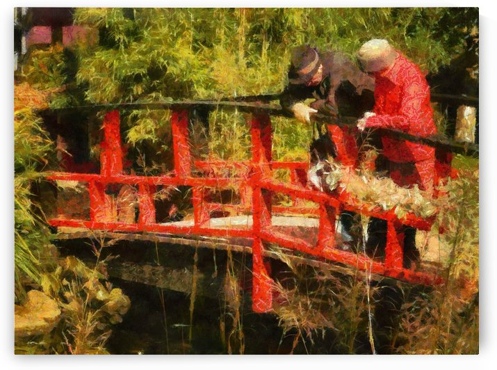 Together on a Bridge by Dorothy Berry-Lound