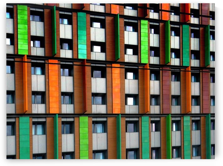 Apartments by Colour 2 by Dorothy Berry-Lound