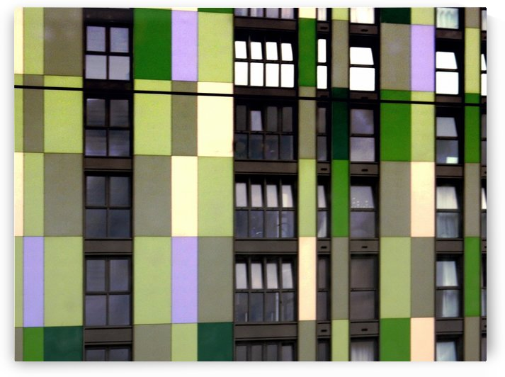 Apartments by Colour 1 by Dorothy Berry-Lound