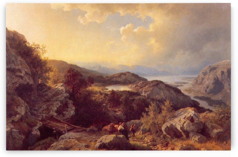 Fra Vossevangen by Hans Fredrik Gude