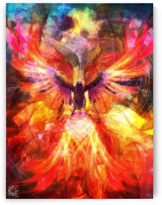 The Celestial Bird 1.1 by ChrisHarrisArt
