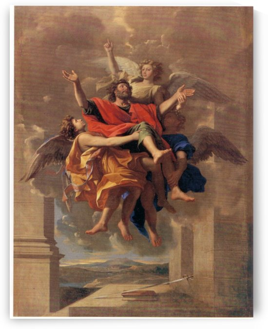 Le_Ravissement_de_Saint_Paul_1650 by Poussin by Poussin