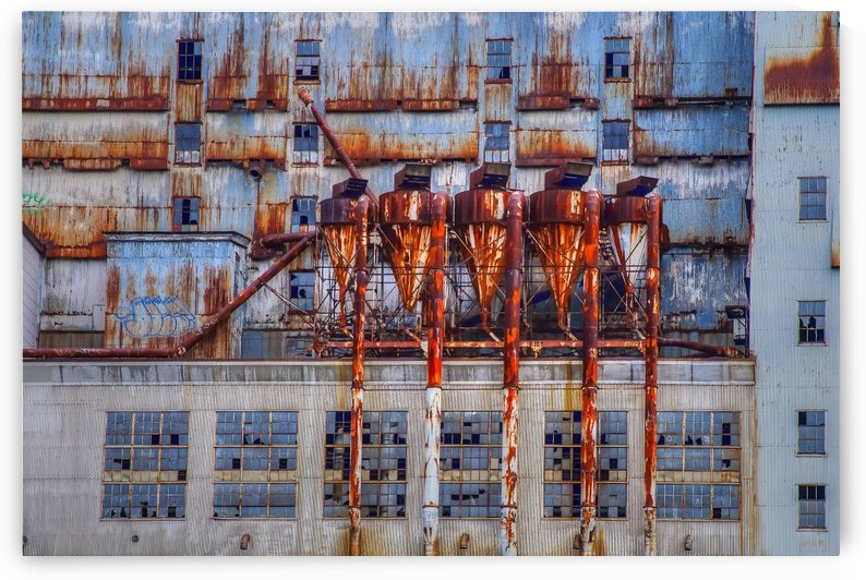 Vieille usine by Christian Bibeau