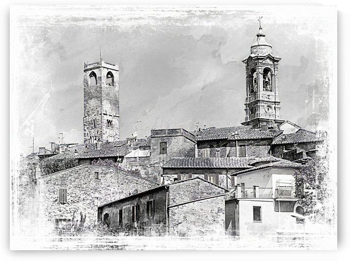 Citta della Pieve Skyline by Dorothy Berry-Lound