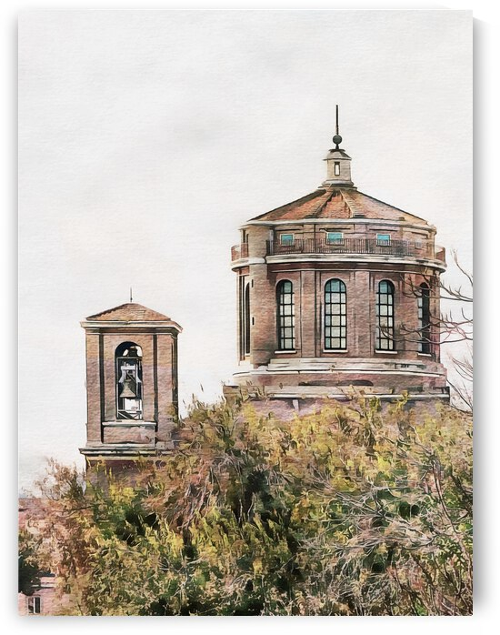 Belltower and Cupola Rome by Dorothy Berry-Lound