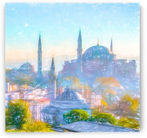 Hagia Sophia Purple Haze by Douglas Madel