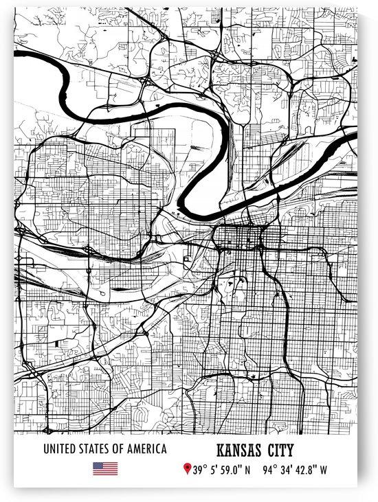 Kansas City USA by Artistic Paradigms