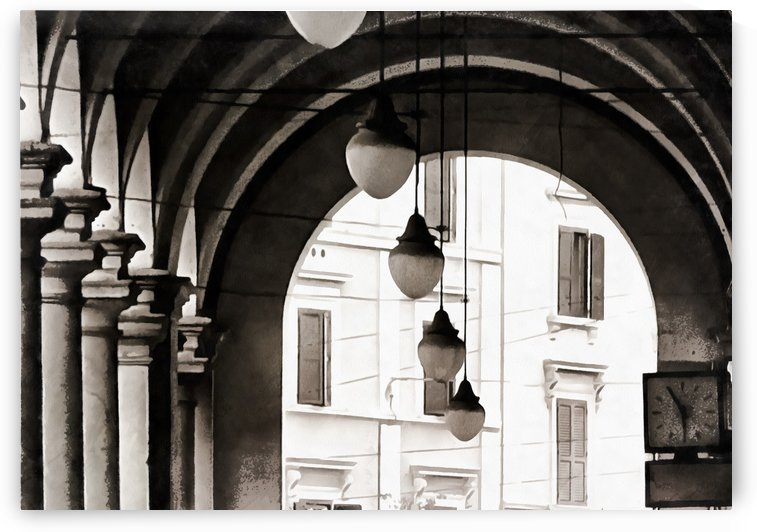 Black and White Overhead by Dorothy Berry-Lound