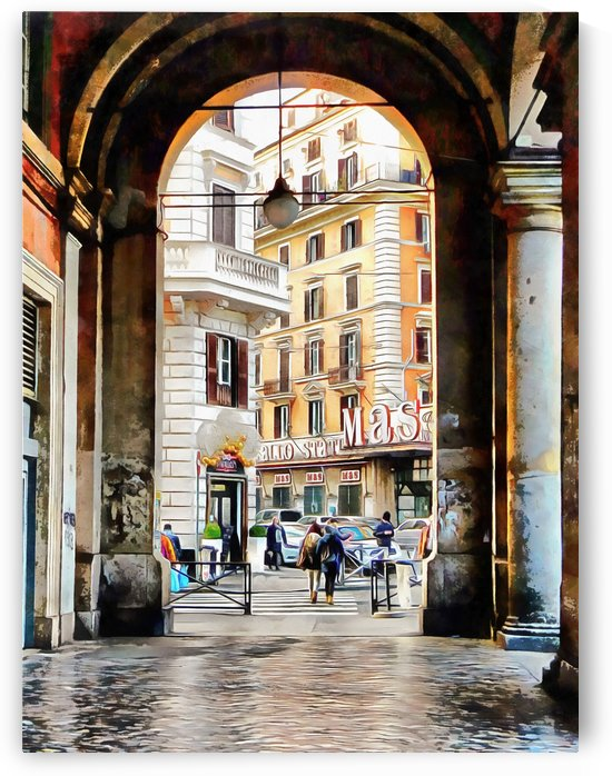 Shopping and Architecture in Rome by Dorothy Berry-Lound