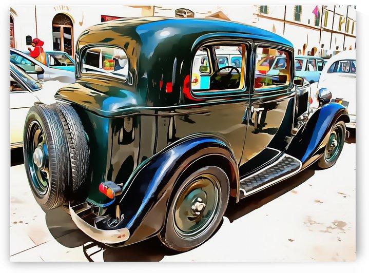 Fiat 508 Balila by Dorothy Berry-Lound