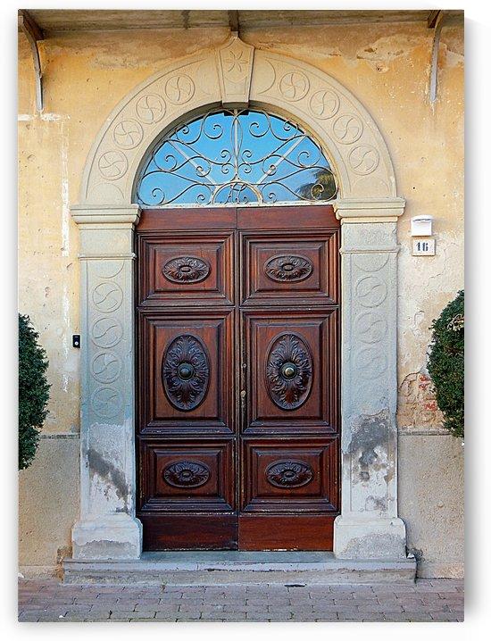 Old Wooden Door Vaiano by Dorothy Berry-Lound