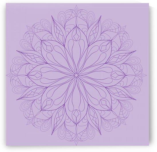 lilac mandala by Chino20