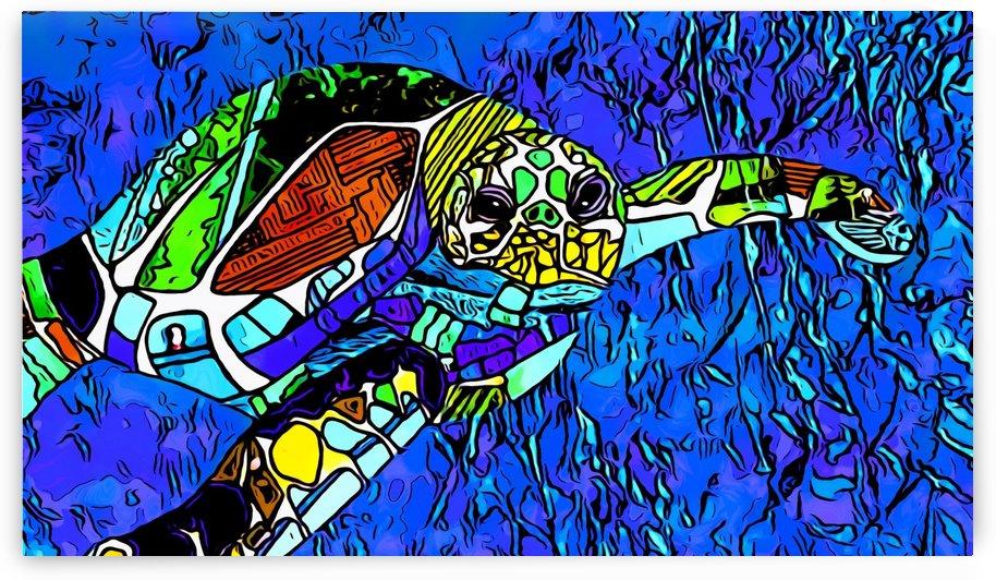 turtle by Bratty ART