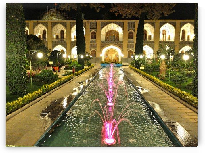 Abassi Hotel Isfahan Iran by Morteza Golpoor