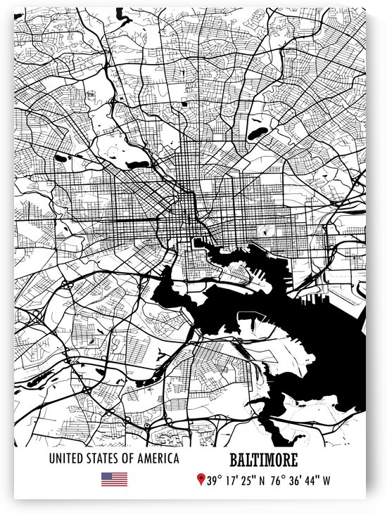Baltimore USA by Artistic Paradigms