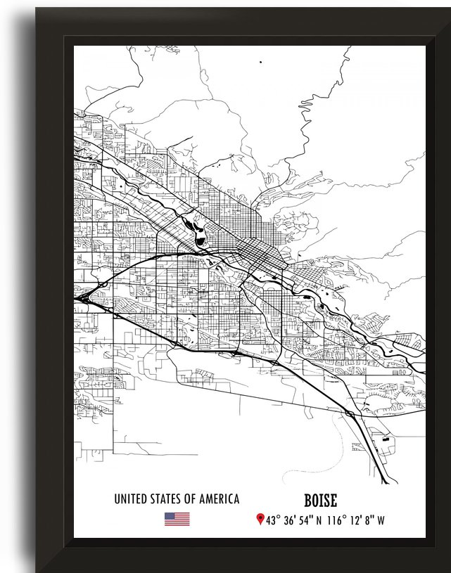 Boise USA by Artistic Paradigms