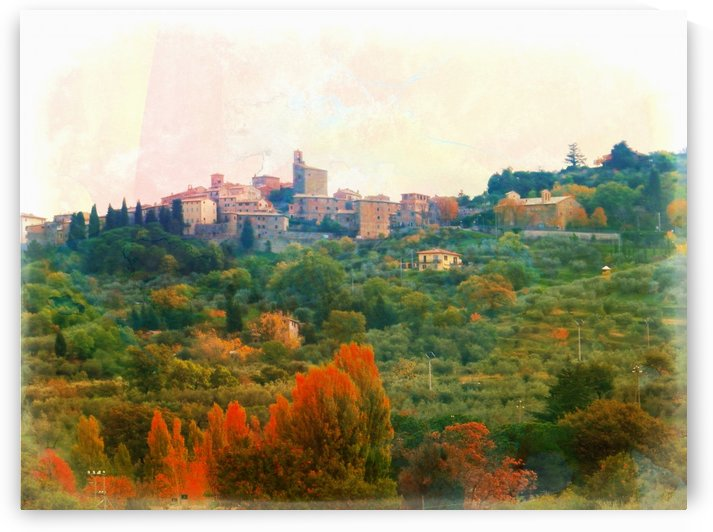 Panicale in Fall by Dorothy Berry-Lound