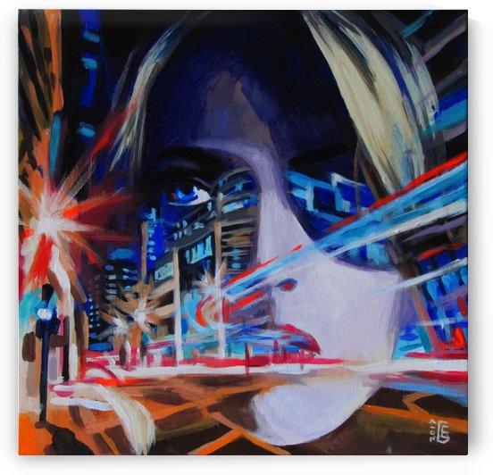Neon motion by Kateryna Bortsova