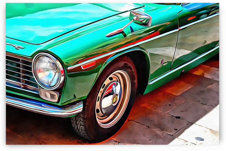 Innocenti C Front View by Dorothy Berry-Lound