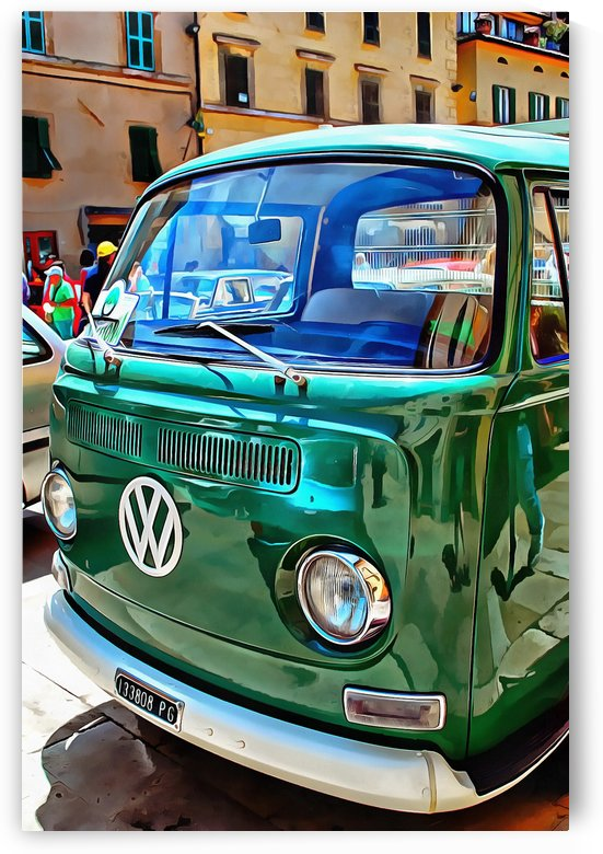 Volkswagon Pickup by Dorothy Berry-Lound
