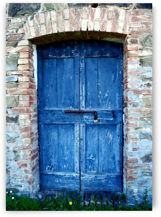The Old Blue Door by Dorothy Berry-Lound
