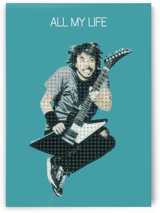 all my life   Dave Grohl   Foo Fighters by Gunawan Rb