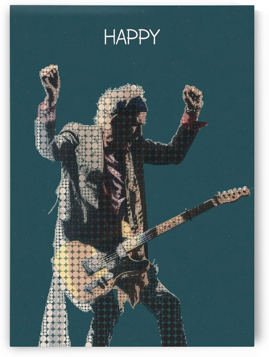 Happy   The Rolling Stones   Keith Richards by Gunawan Rb
