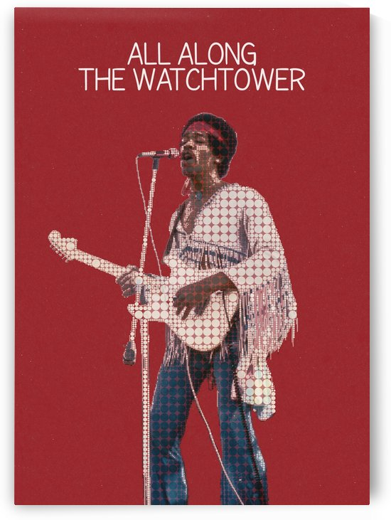 All Along The Watchtower   The Jimi Hendrix Experience by Gunawan Rb