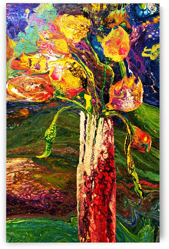 PSYCHO TULIPS   by Cheryl Ehlers