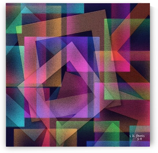 art abstra20 by khalid selmane fares