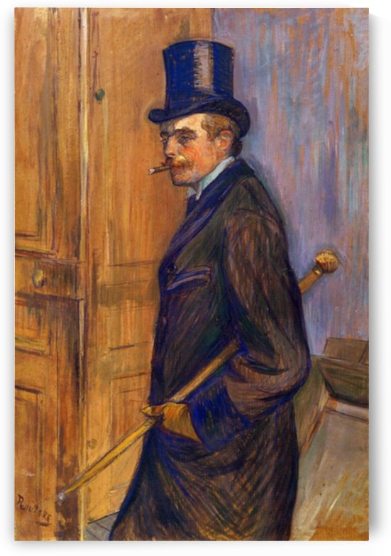 Louis Pascal by Toulouse-Lautrec by Toulouse-Lautrec