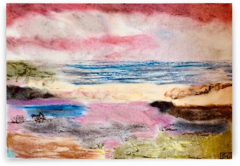Red Sky  by Zaramar Paintings