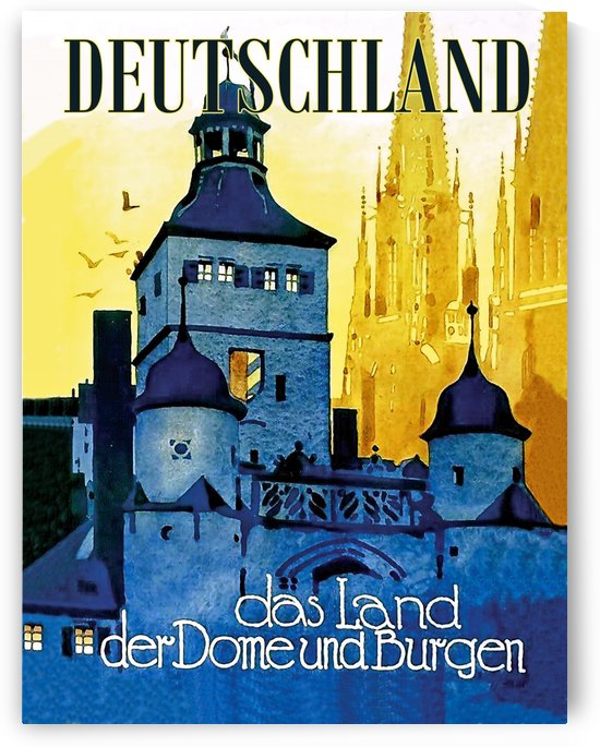 German Land of Castles by vintagesupreme