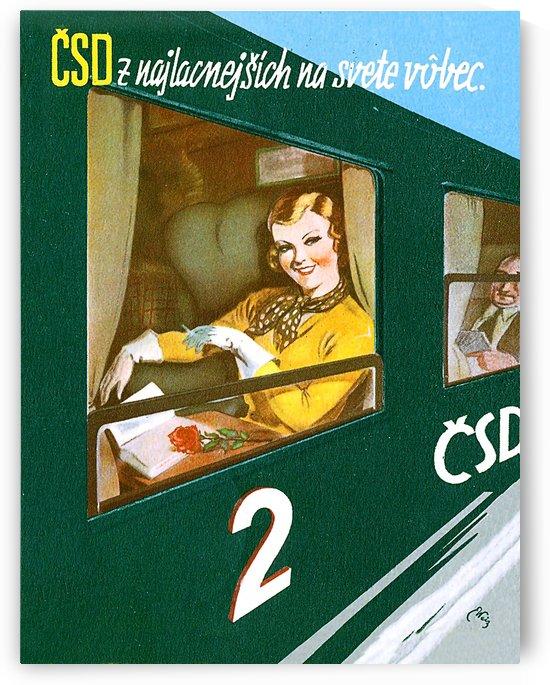 Czech Republic Railway by vintagesupreme
