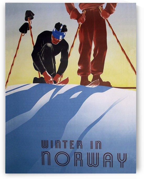 Winter in Norway by vintagesupreme
