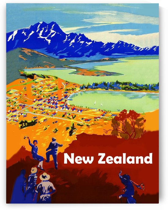 New Zealand by vintagesupreme