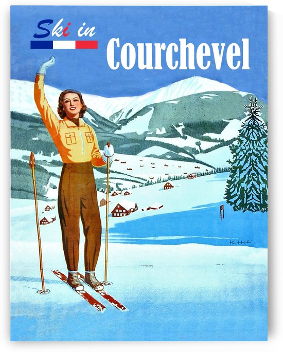 Ski in Courchevel by vintagesupreme