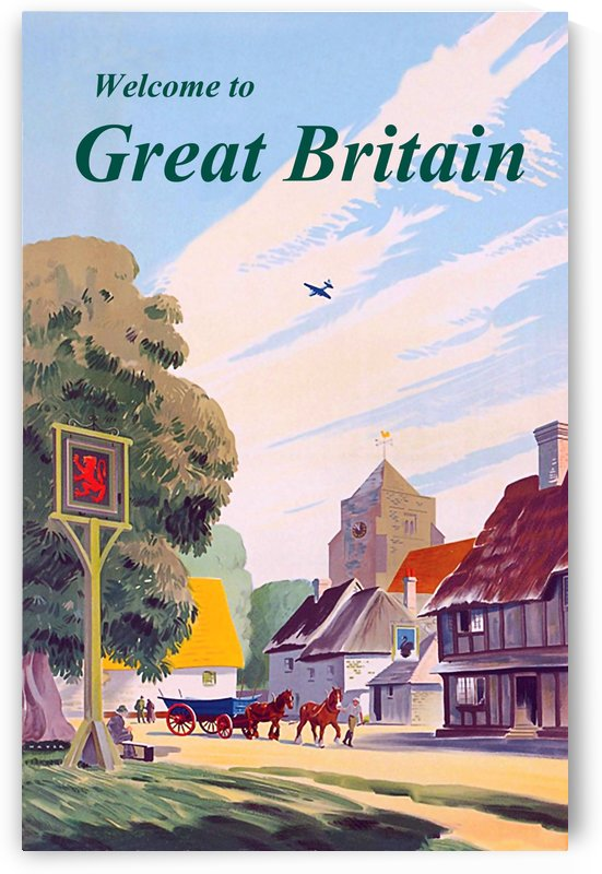 Welcome to Great Britain by vintagesupreme