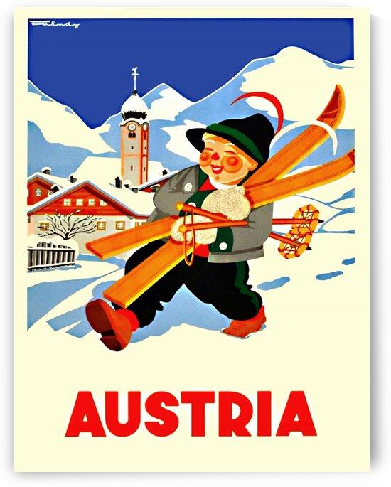 Little Skier from Austria by vintagesupreme