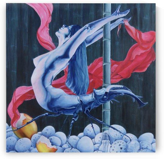 Pole dance by Bob Ivens