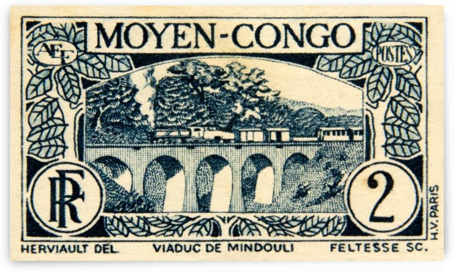 Moyen-Congo 2 Stamp by David Pinter