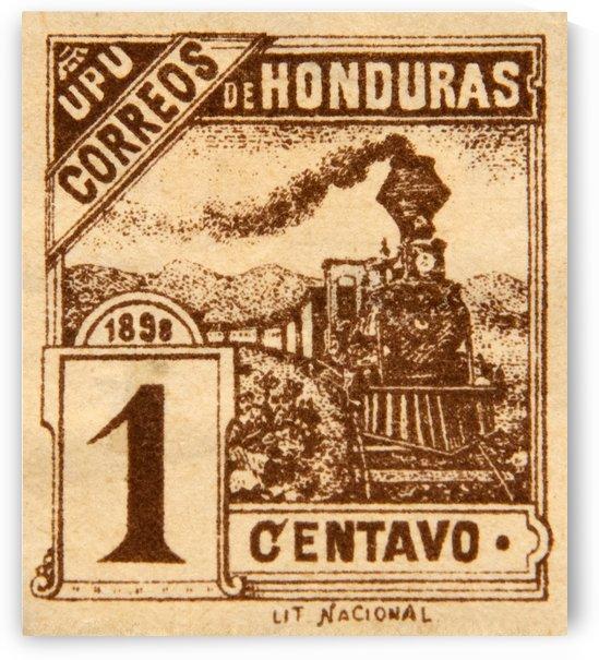 Correos De Honduras Stamp by David Pinter