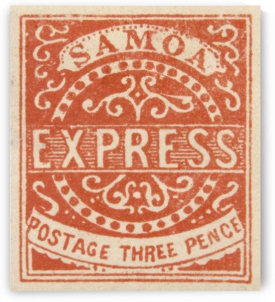 Samoa 1 Stamp by David Pinter