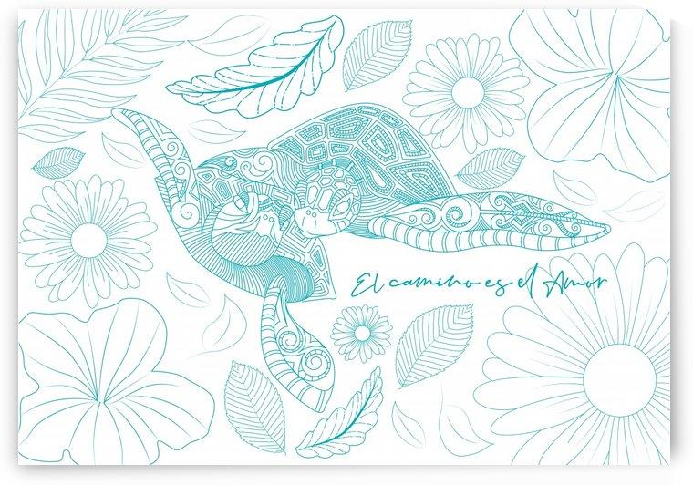 tortuga mare fondoblanco 01 by Lau Vega