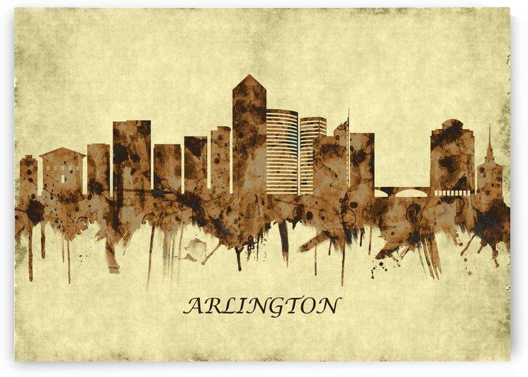 Arlington Texas Cityscape by Towseef Dar